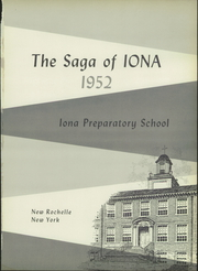 Page 5, 1952 Edition, Iona Preparatory School - Saga Yearbook (New Rochelle, NY) online yearbook collection