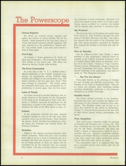 Page 12, 1952 Edition, Power Memorial Academy - Power Yearbook (New York, NY) online yearbook collection