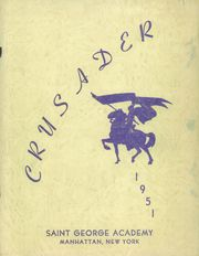 Page 1, 1951 Edition, St George Academy - Crusader Yearbook (New York, NY) online yearbook collection