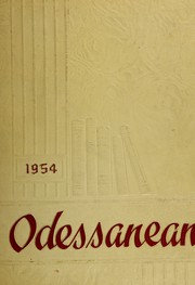 Page 1, 1954 Edition, Odessa Central High School - Odessanean Yearbook (Odessa, NY) online yearbook collection
