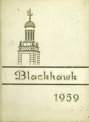 1959 Edition, Oxford Central High School - Blackhawk Yearbook (Oxford, NY)