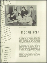 Page 10, 1952 Edition, Oakwood School - Quercus Yearbook (Poughkeepsie, NY) online yearbook collection