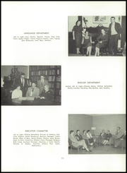 Page 15, 1956 Edition, Oakwood School - Quercus Yearbook (Poughkeepsie, NY) online yearbook collection