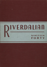 Page 1, 1940 Edition, Riverdale Country School for Boys - Riverdalian Yearbook (Riverdale, NY) online yearbook collection