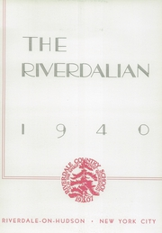 Page 9, 1940 Edition, Riverdale Country School for Boys - Riverdalian Yearbook (Riverdale, NY) online yearbook collection