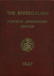 Page 1, 1947 Edition, Riverdale Country School for Boys - Riverdalian Yearbook (Riverdale, NY) online yearbook collection
