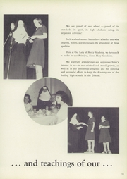 Page 15, 1957 Edition, Our Lady of Mercy Academy - Olma Yearbook (Syosset, NY) online yearbook collection