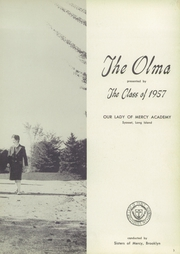 Page 7, 1957 Edition, Our Lady of Mercy Academy - Olma Yearbook (Syosset, NY) online yearbook collection