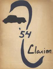 1954 Edition, Sharon Springs Central High School - Clarion Yearbook (Sharon Springs, NY)