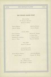 Page 14, 1934 Edition, Stony Brook School - Res Gestae Yearbook (Stony Brook, NY) online yearbook collection