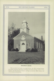 Page 17, 1934 Edition, Stony Brook School - Res Gestae Yearbook (Stony Brook, NY) online yearbook collection
