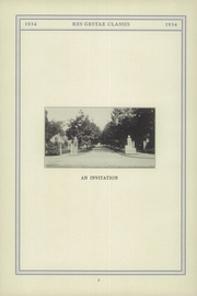Page 8, 1934 Edition, Stony Brook School - Res Gestae Yearbook (Stony Brook, NY) online yearbook collection