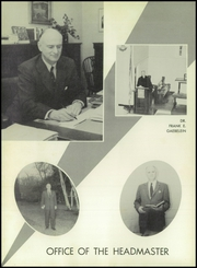 Page 6, 1957 Edition, Stony Brook School - Res Gestae Yearbook (Stony Brook, NY) online yearbook collection