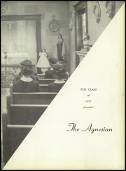 Page 7, 1957 Edition, St Agnes Seminary School - Agnesian Yearbook (Brooklyn, NY) online yearbook collection