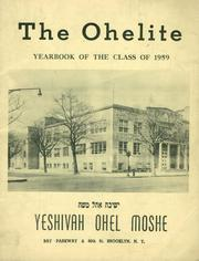 1959 Edition, Yeshivah Ohel Moshe - Ohelite Yearbook (Brooklyn, NY)
