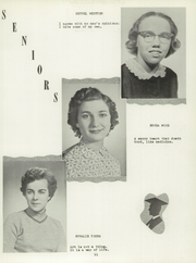 Page 15, 1956 Edition, Brushton High School - Cardinal Yearbook (Brushton, NY) online yearbook collection
