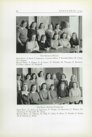 Page 16, 1944 Edition, Buffalo Seminary - Seminaria Yearbook (Buffalo, NY) online yearbook collection