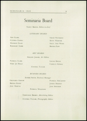 Page 13, 1949 Edition, Buffalo Seminary - Seminaria Yearbook (Buffalo, NY) online yearbook collection