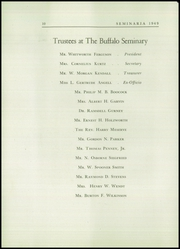 Page 14, 1949 Edition, Buffalo Seminary - Seminaria Yearbook (Buffalo, NY) online yearbook collection