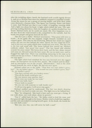Page 17, 1949 Edition, Buffalo Seminary - Seminaria Yearbook (Buffalo, NY) online yearbook collection