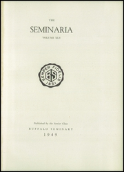 Page 5, 1949 Edition, Buffalo Seminary - Seminaria Yearbook (Buffalo, NY) online yearbook collection