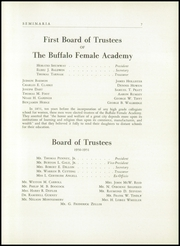 Page 11, 1951 Edition, Buffalo Seminary - Seminaria Yearbook (Buffalo, NY) online yearbook collection