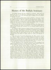 Page 14, 1951 Edition, Buffalo Seminary - Seminaria Yearbook (Buffalo, NY) online yearbook collection