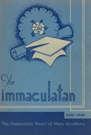 Immaculate Heart of Mary Academy - Immaculatan Yearbook (Buffalo, NY) online yearbook collection, 1940 Edition, Page 1