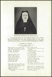 Page 13, 1942 Edition, Immaculate Heart of Mary Academy - Immaculatan Yearbook (Buffalo, NY) online yearbook collection