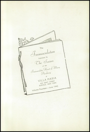 Page 5, 1942 Edition, Immaculate Heart of Mary Academy - Immaculatan Yearbook (Buffalo, NY) online yearbook collection