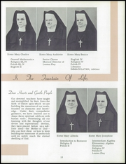 Page 17, 1954 Edition, Immaculate Heart of Mary Academy - Immaculatan Yearbook (Buffalo, NY) online yearbook collection