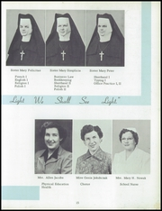 Page 19, 1954 Edition, Immaculate Heart of Mary Academy - Immaculatan Yearbook (Buffalo, NY) online yearbook collection