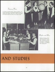 Page 23, 1954 Edition, Immaculate Heart of Mary Academy - Immaculatan Yearbook (Buffalo, NY) online yearbook collection