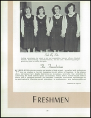 Page 24, 1954 Edition, Immaculate Heart of Mary Academy - Immaculatan Yearbook (Buffalo, NY) online yearbook collection