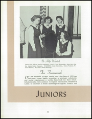 Page 36, 1954 Edition, Immaculate Heart of Mary Academy - Immaculatan Yearbook (Buffalo, NY) online yearbook collection