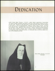 Page 8, 1954 Edition, Immaculate Heart of Mary Academy - Immaculatan Yearbook (Buffalo, NY) online yearbook collection