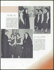 Page 9, 1954 Edition, Immaculate Heart of Mary Academy - Immaculatan Yearbook (Buffalo, NY) online yearbook collection