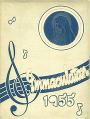 Immaculate Heart of Mary Academy - Immaculatan Yearbook (Buffalo, NY) online yearbook collection, 1955 Edition, Page 1