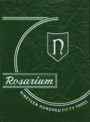 Page 1, 1953 Edition, Nardin Academy - Rosarium Yearbook (Buffalo, NY) online yearbook collection