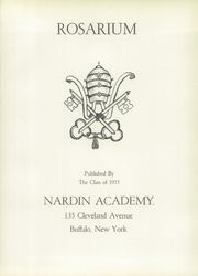 Page 5, 1955 Edition, Nardin Academy - Rosarium Yearbook (Buffalo, NY) online yearbook collection