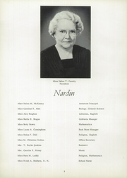 Page 10, 1958 Edition, Nardin Academy - Rosarium Yearbook (Buffalo, NY) online yearbook collection