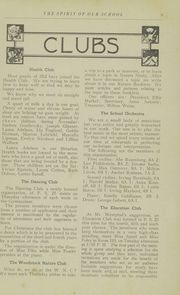 Page 11, 1923 Edition, Woodstock School - Spirit Yearbook (Bronx, NY) online yearbook collection