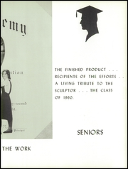 Page 13, 1960 Edition, St Peters Academy - Veritas Yearbook (Saratoga Springs, NY) online yearbook collection