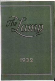 1932 Edition, Wilson Memorial Hospital School of Nursing - Lamp Yearbook (Johnson City, NY)