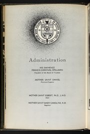 Page 10, 1953 Edition, Notre Dame College - Moorings Yearbook (Staten Island, NY) online yearbook collection