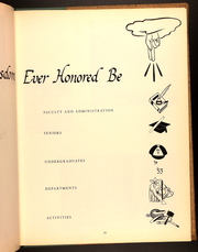 Page 15, 1952 Edition, Rosary Hill College - Summit Yearbook (Buffalo, NY) online yearbook collection