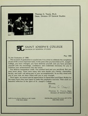 Page 9, 1986 Edition, St Josephs College Division of General Studies - Achievements Yearbook (Brooklyn, NY) online yearbook collection