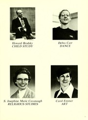 Page 17, 1978 Edition, St Josephs College Long Island - Alpha Yearbook (Patchogue, NY) online yearbook collection