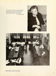 Page 15, 1965 Edition, Columbia University School of Nursing - Yearbook (New York, NY) online yearbook collection