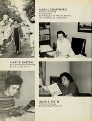 Page 16, 1974 Edition, Columbia University School of Nursing - Yearbook (New York, NY) online yearbook collection